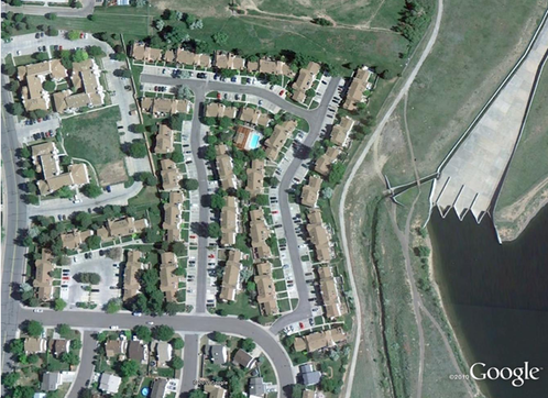 Quincy Lake HOA - aerial photo - Aurora, Colorado