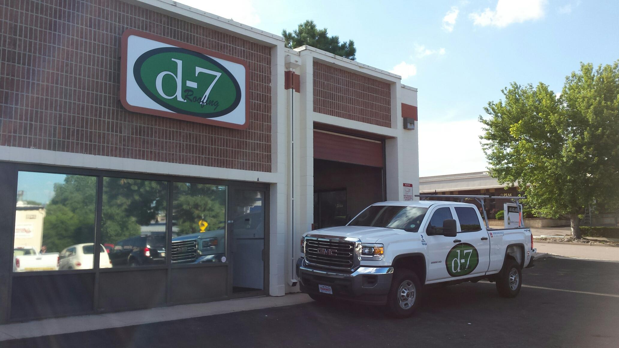 d-7Roofing: Colorado Springs office